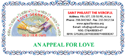 AN APPEAL FOR LOVE