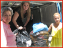 Clothing Donated to the Road Accident Prevention Society