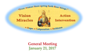 General Meeting January 21, 2017 With