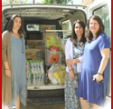 Distribution of Basic Necessities for the Victims of the Wildfire, Municipality of Marathon