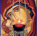 The Vigil Lamp of the Panagia and the Widow with Five Children